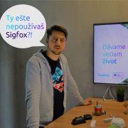 Andrej Dobák, technológia Sigfox, Internet vecí