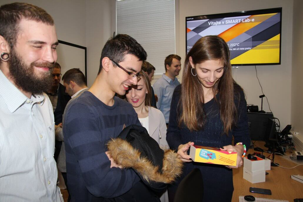 študenti, smart lab, tuke, košice, internet vecí, iot, sigfox, simplecell slovakia